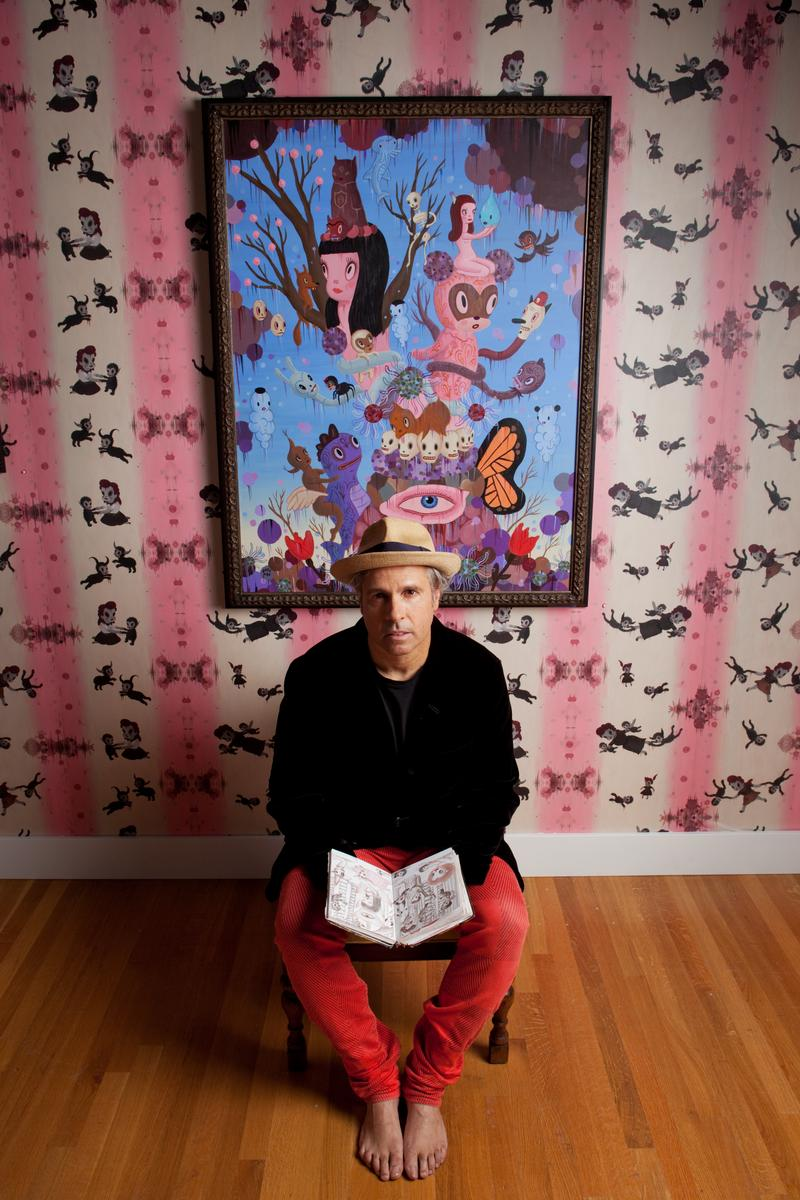 welcome to gary baseman s universe where whimsy creatures play in how did you come to discover the artist inside you