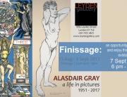 Alasdair Gray Finissage Image