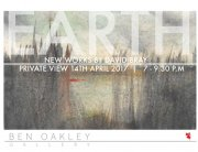 Come down to 'EARTH' @thebenoakley new exhibition by #artist David Bray