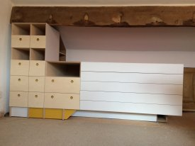 Artists Plan Chest and Storage