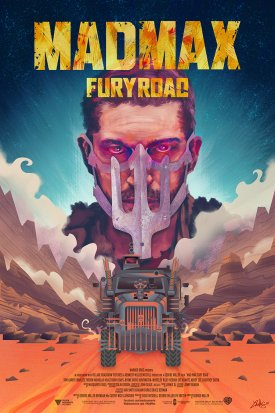 Mad Max Fury Road alternative poster by Ladislas Chachignot - 2015