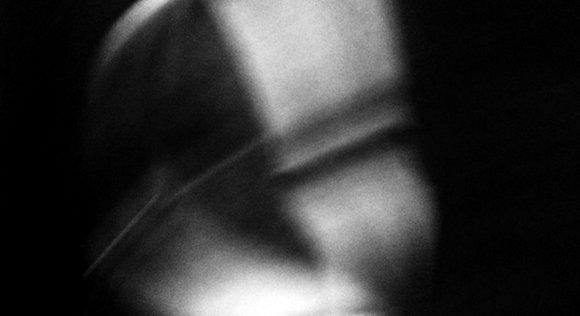 Ramona Kandinger, Self-Portrait, black and white, digital, hero, mask, identity, blurry