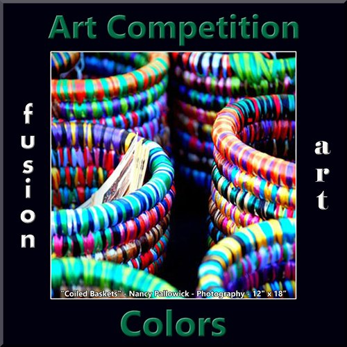 Colors Art Competition Graphic of colorful wicker baskets