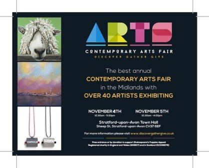 Arts Fair, Stratford-upon-Avon, Regional and local artists, 3rd to 5th November