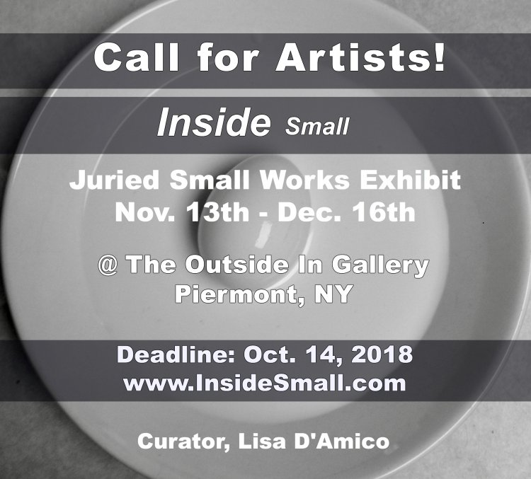Call for Artists: Inside Small Art Exhibit
