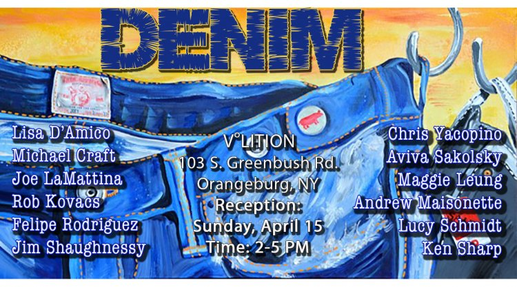 Creative Events Denim Art Exhibit New York Art Jobs