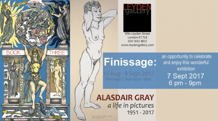 Alasdair Gray Finissage Image