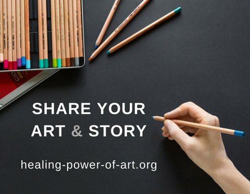 artists share your art and stories about how art heals