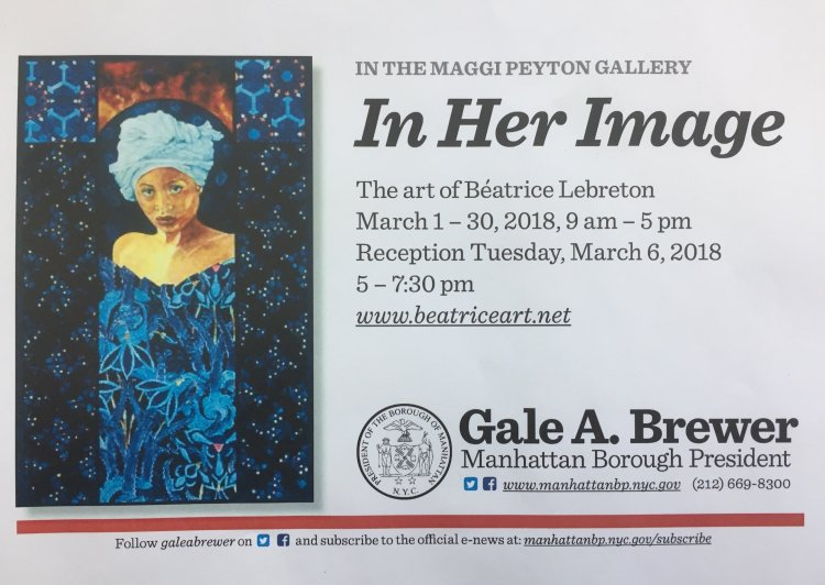 In Her Image, solo exhibition by Béatrice Lebreton
