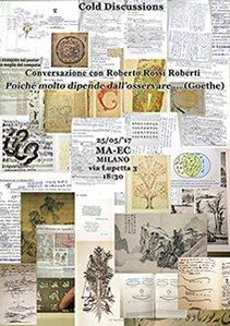 Conversazione con Roberto Rossi Roberti