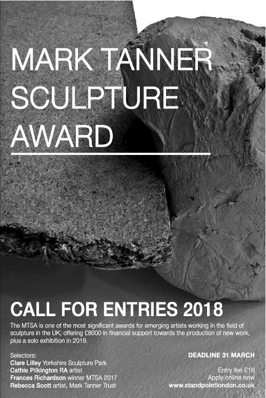 Call for Entries | Call for Entries - Mark Tanner Sculpture Award