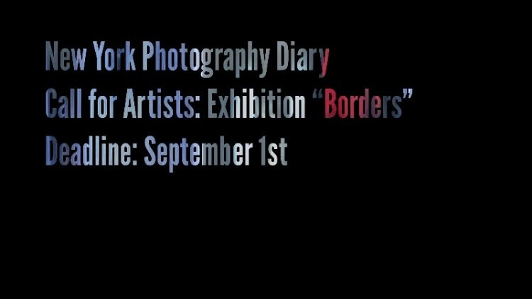 New York Photography Diary Borders exhibition London