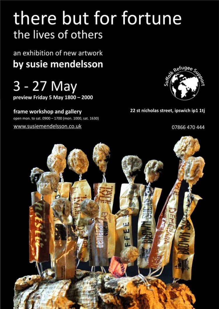There but for fortune: solo exhibition by Susie Mendelsson