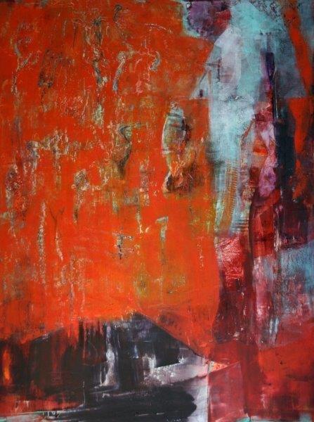 Remnants by Aida Schneider 48x36