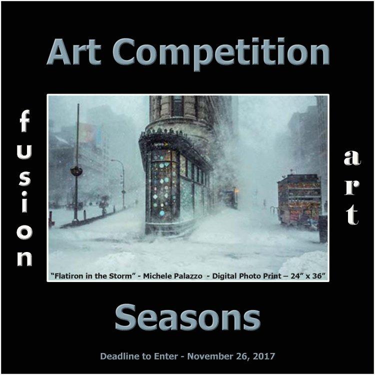 Seasons Art Competition - snowstorm photograph