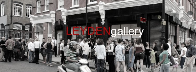 Leyden Gallery. Strategically situated between the Square Mile and Spitalfields