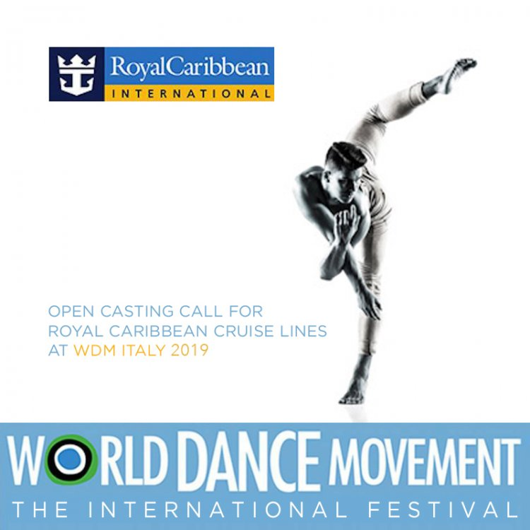Royal Caribbean Auditions for Dancers and Singers @ World Dance