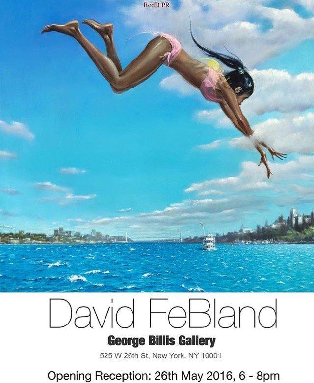David FeBland at the George Billis Gallery