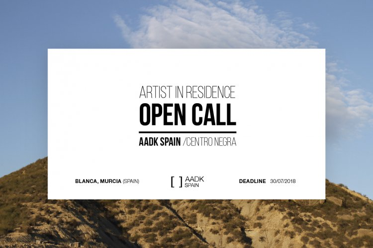 Open Call - Artists in Residence 2019 - AADK Spain - Centro