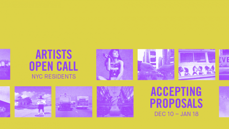Call for Artists | Creative Time's Open Call for Artists