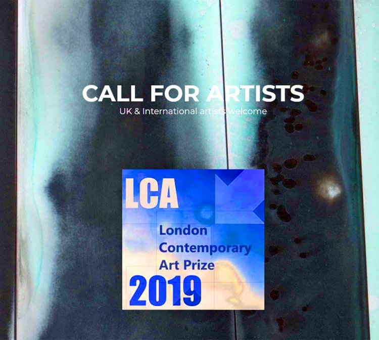 Call for Artists | LCA Prize 2019 | London | London Contemporary Art