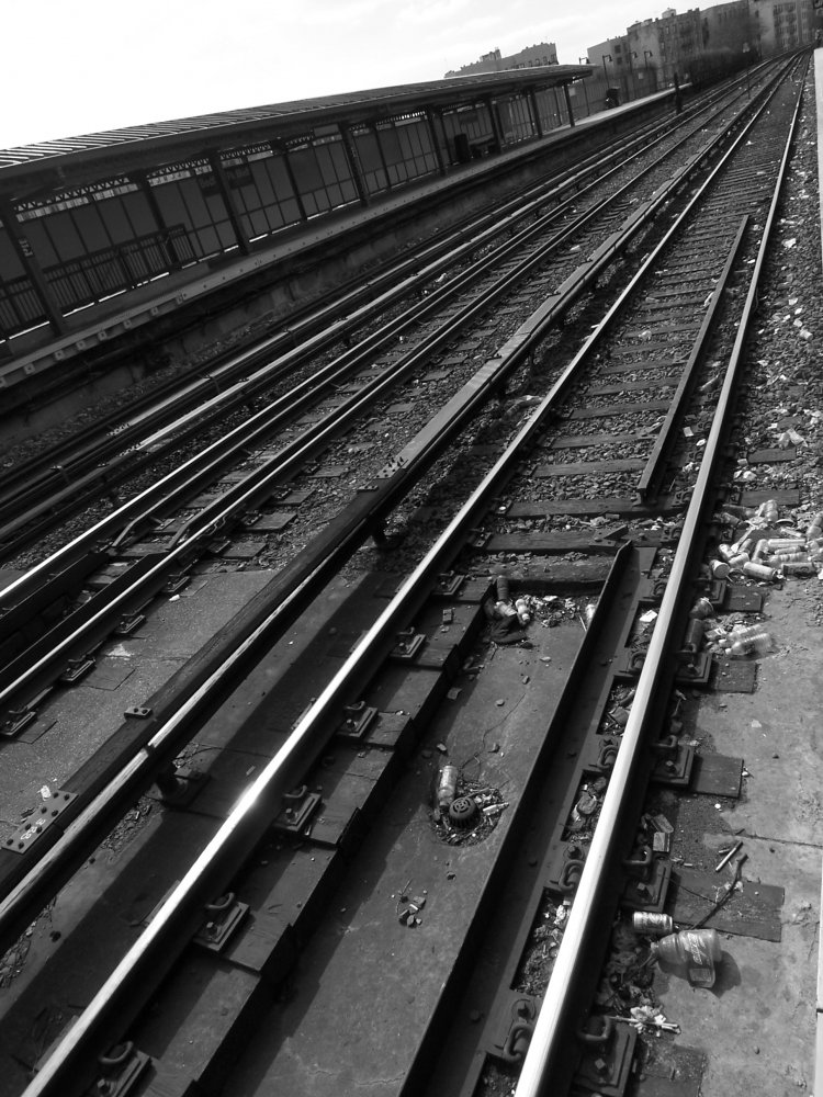 subway tracks
