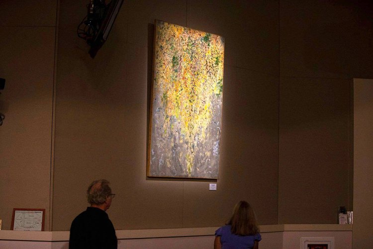 """Loan exhibit to the Orlando Arts and Cultural Affairs, Orlando Florida USA. """"Art in the Chambers"""" exhibition at the Board of County Commissioner's Chambers in Orlando, Florida."""