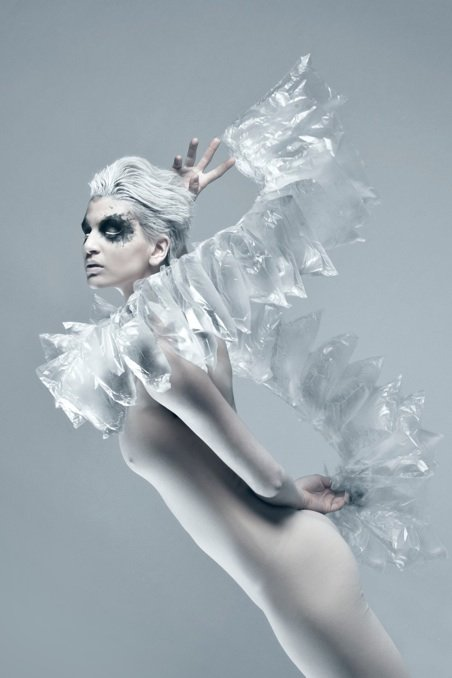 model, jewelry, female, high fashion, editorial, floating, white, beauty, fashion, makeup, makeup artist, mua
