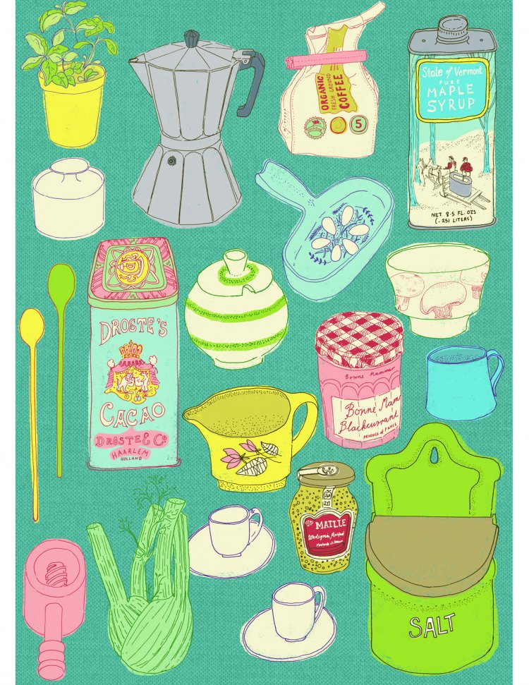 Personal piece - things from my larder