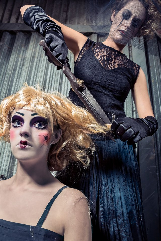 Halloween Doll Puppet London Fashion Pictures Adrian Farr