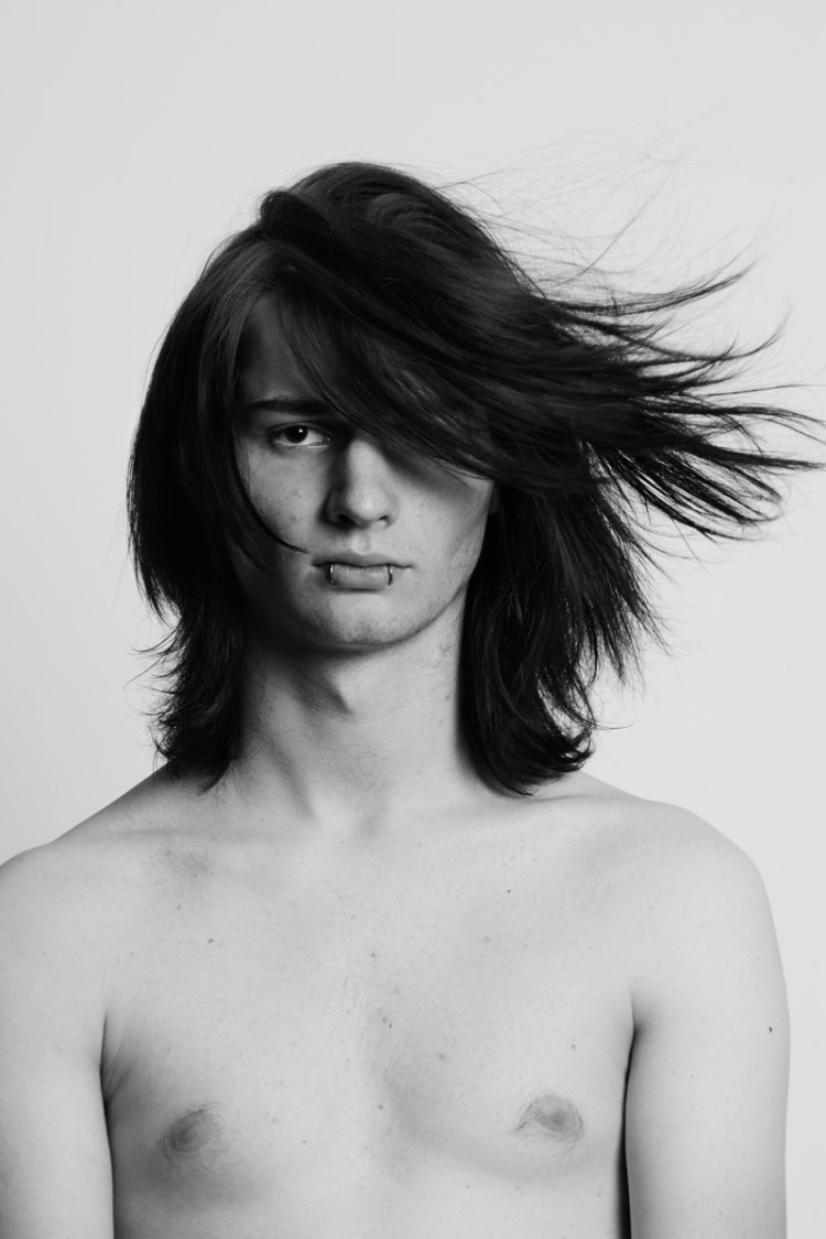 Men hair editorial