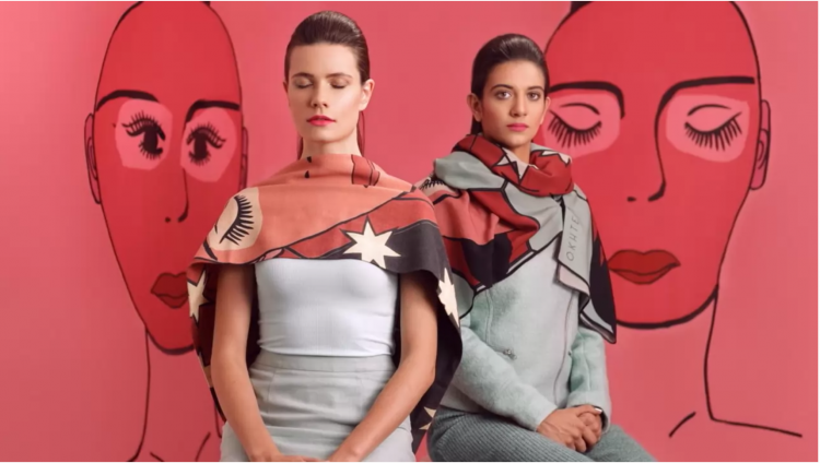 cinemagraphs fashion campaign okhtein louay nasser