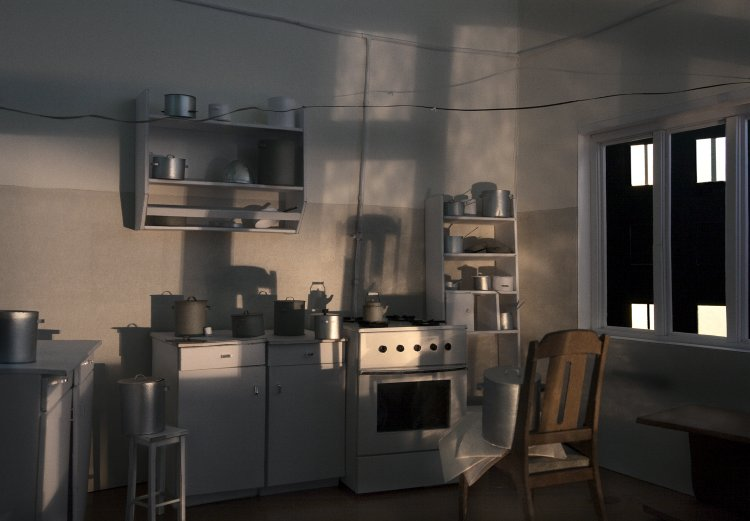 Untitled (Kitchen), 2010