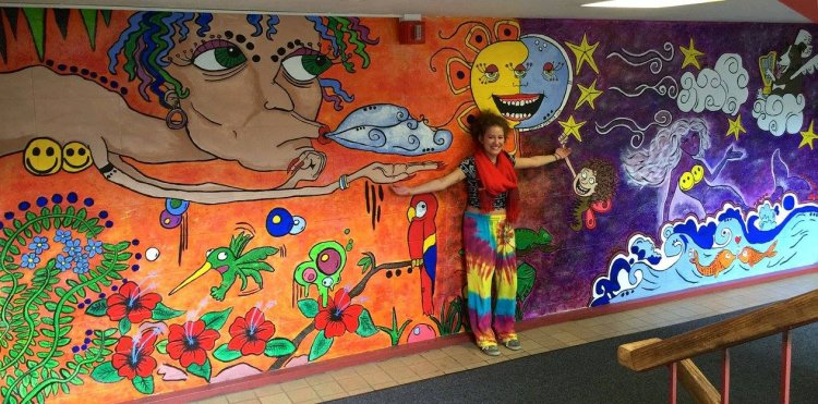 Day and Night Mural