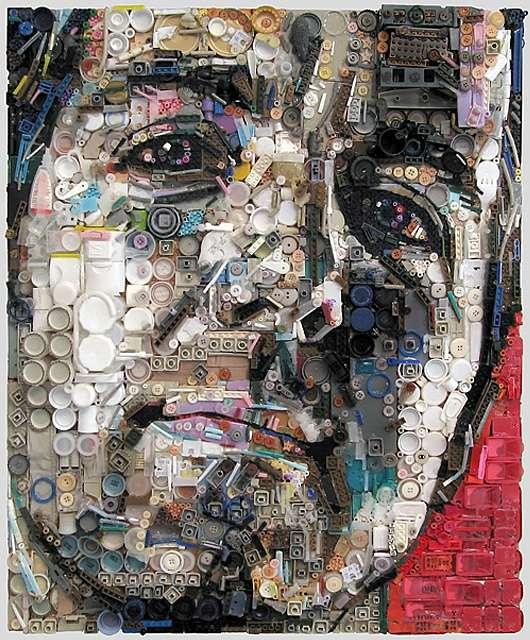 Assemblage Portraits By Zac Freeman Art Amp Creative